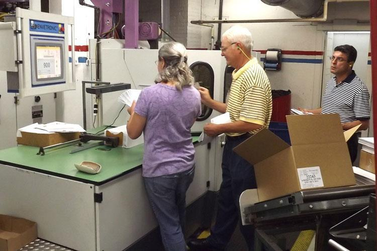 Envelope Quality Control Inspection