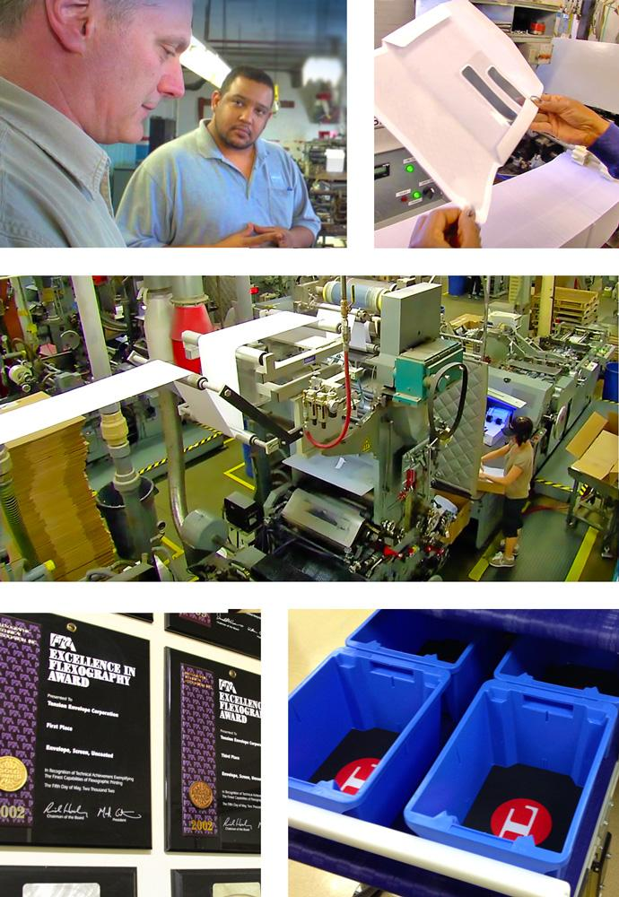 Envelopes and Automated Packaging by Tension Corporation