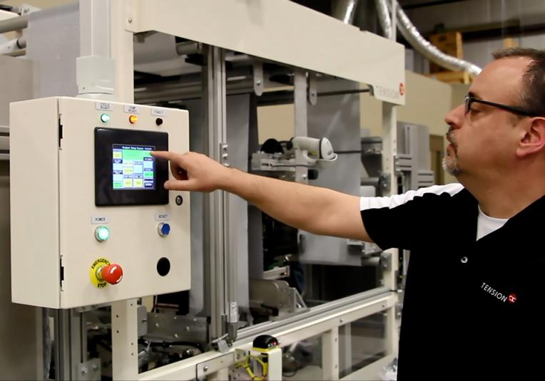 Tension Packaging and Automation Service Help